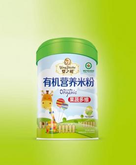 有机营养米粉-果蔬多维罐装