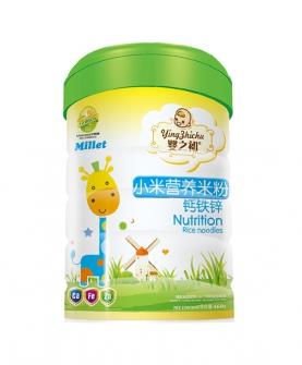 小米营养米粉钙铁锌罐装