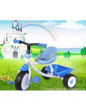 小将军婴儿三轮车脚踏车蓝色
