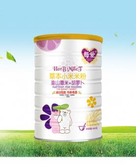 草本小米米粉-淮山薏米+胡萝卜