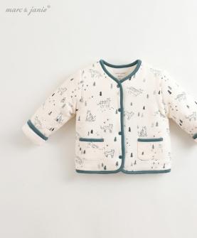 婴儿加棉内衣