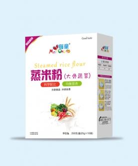 蒸米粉 大骨蔬菜-盒装