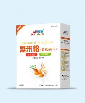 蒸米粉 蛋黄胡萝卜-盒装