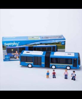 仙霸双节巴士公交车