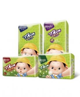 超薄干爽婴儿纸尿裤
