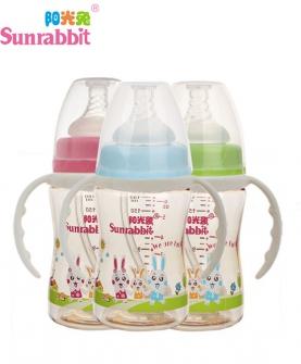 阳光兔宽口PPSU奶瓶