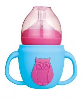 宽口新款防爆玻璃奶瓶180ml
