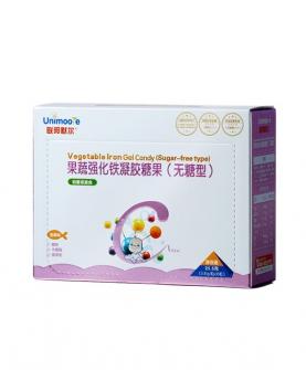 果蔬强化铁凝胶糖果(无糖型)