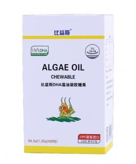 DHA藻油凝胶糖果