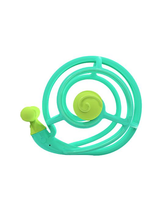 妈贝乐蜗牛牙胶训练球