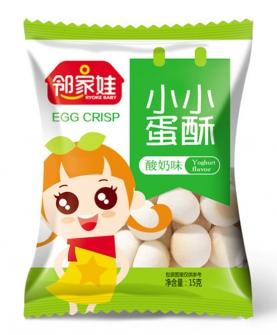 小小蛋酥酸奶味(五连包15g)