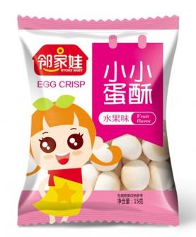 小小蛋酥水果味(五连包15g)