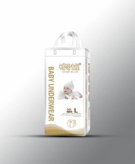 5D珍珠面层 婴儿小内裤L50片