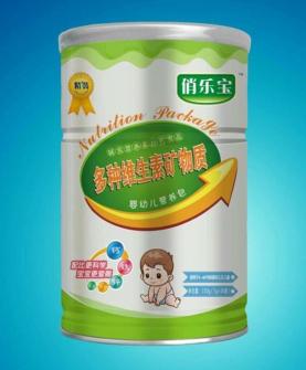 多种维生素矿物质婴幼儿营养包