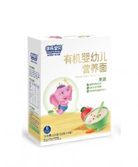 有机婴幼儿营养面果蔬
