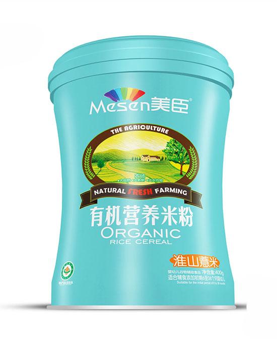 美臣淮山薏米有机营养米粉