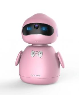 儿童情感教育机器人 粉