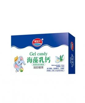海藻乳钙凝胶糖果