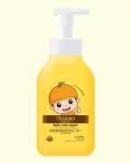 橙色贝贝滋润洗发沐浴二合一