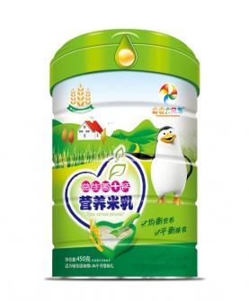 益生菌+钙营养米乳