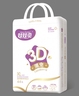 3D薄宠婴儿纸尿裤XL44