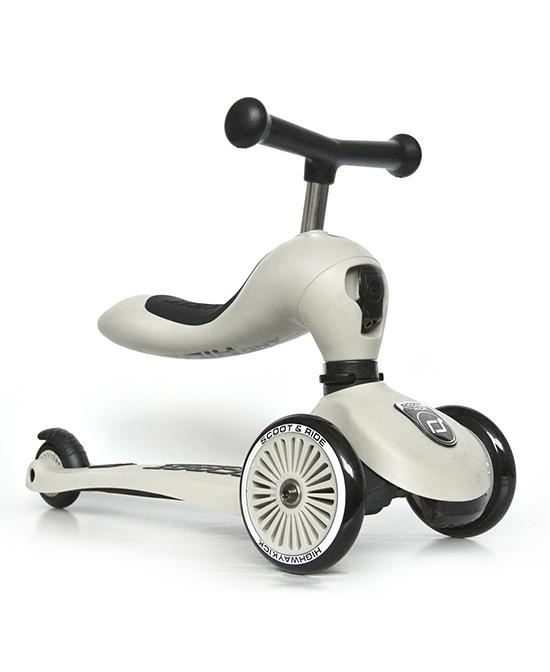 嘛哩屋儿童可坐二合一滑板车