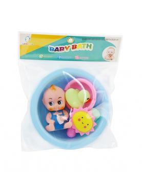 宝宝洗澡玩具戏水套装