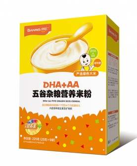 DHA+AA五谷杂粮婴幼儿营养米粉