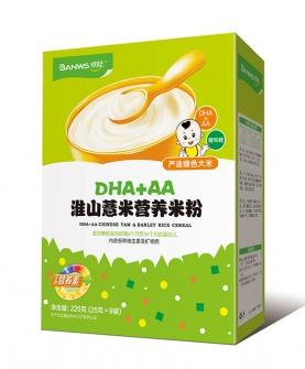 DHA+AA淮山薏米婴幼儿营养米粉
