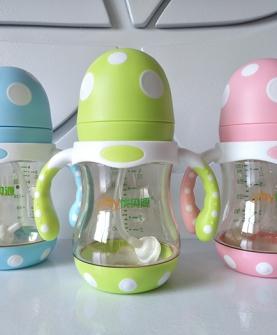 PPSU蘑菇头奶瓶180ml