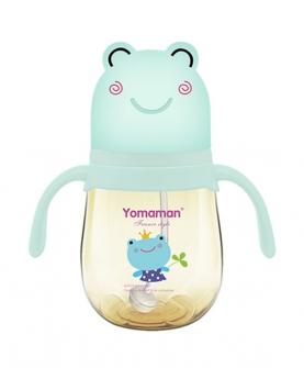 青蛙造型盖子PPSU奶瓶绿色