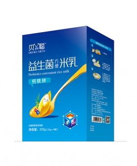 钙铁锌益生菌米乳