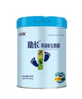 助长果蔬配方奶粉