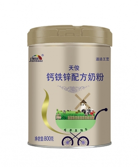 钙铁锌配方奶粉