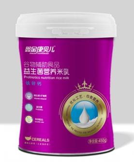 益生菌营养米乳-铁锌钙配方 桶装