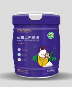 有机营养米粉-高钙配方
