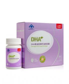 DHA藻油亚麻籽油软胶蘘