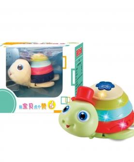 灯光音乐彩虹龟