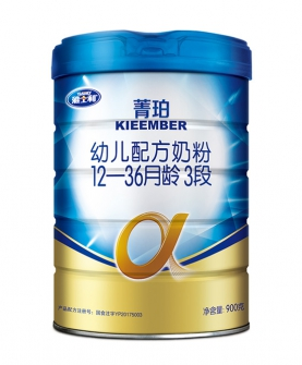 菁珀3段原超a幼儿配方奶粉900g