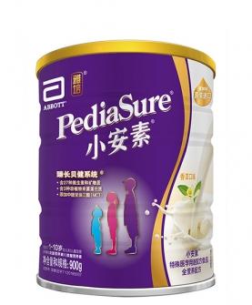 小安素进口婴幼儿童全营养配方粉香草味900g