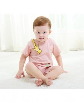 婴幼儿夏季连体衣短袖哈衣