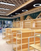 文嘉君展柜婴童货架展示