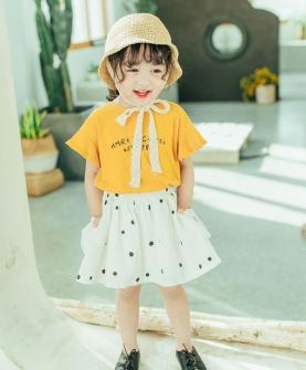 新款童装半身裙
