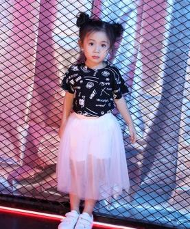 新款儿童半身裙