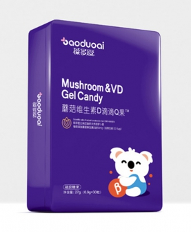蘑菇维生素D滴滴Q果