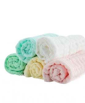 宝宝纱布毛巾