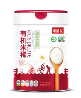 有机米稀(加锌猴头菇配方)