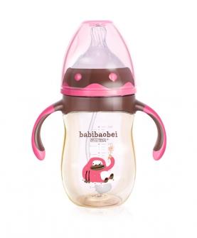 PPSU多罗玫瑰茜红奶瓶