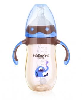 PPSU钴蓝奶瓶