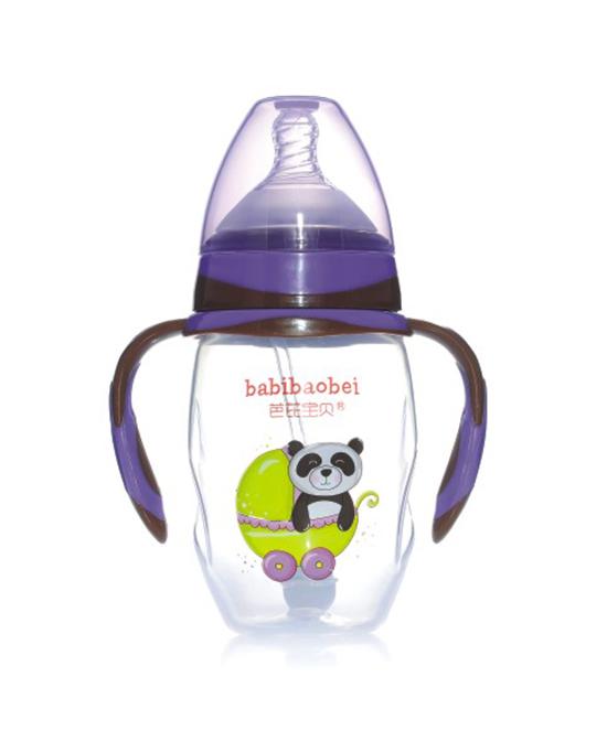 芭芘宝贝宽口奶瓶